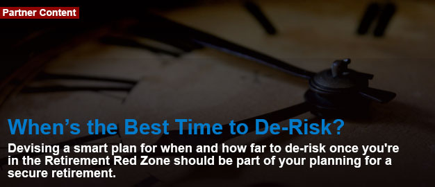 When's the Best Time to De-Risk?