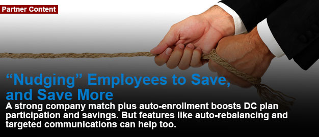 """Nudging"" Employees to Save, and Save More"