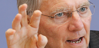 German Finance Minister Wolfgang Schäuble Insists Deficit Cuts Can Promote Recovery