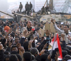 Investors View Uprising In Egypt With Caution