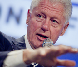 Pete Peterson's Fiscal Summit: The World According to Bill Clinton