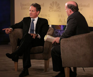 Geithner to Wall Street: Pony Up for New Jobs