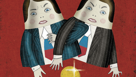 Moscow Investment Banks VTB and Troika Dialog Square Off