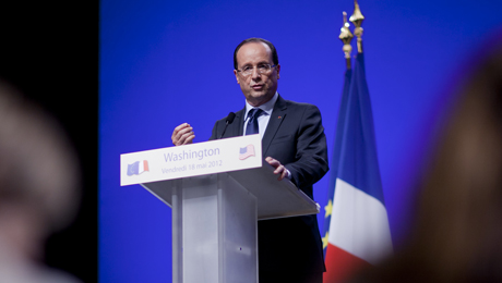 Hollande's Initial Moves Soothe Investors