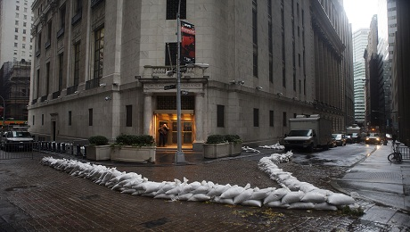 How Well Did Wall Street Handle Hurricane Sandy?