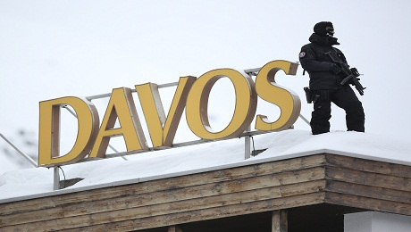 Davos Reflects New Optimism About the Euro
