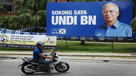 Malaysia's Election Weakens Najib and Dims Prospects for Economic Reform