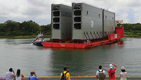 Contract Dispute Delays the Panama Canal's Expansion