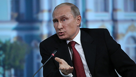 Putin and Investors Engage in a Dialogue of the Deaf