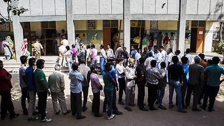 In Indian Elections, Promise and Potential Move Markets