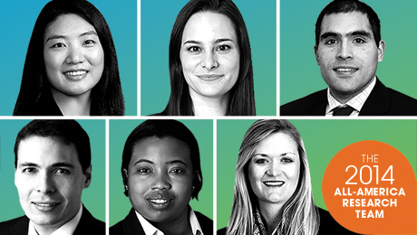 The 2014 Rising Stars of Wall Street
