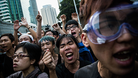 Hong Kong's Pro-Democracy Protests Carry Economic Undertones