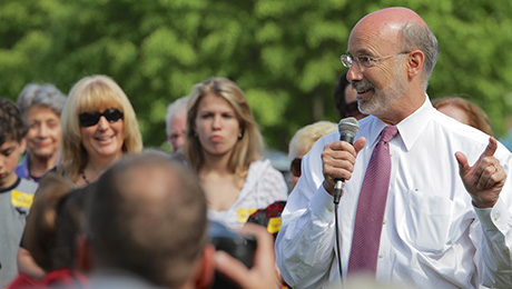 Democrat Tom Wolf Rejects Pension Cuts, Leads Pennsylvania Race