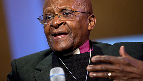 Desmond Tutu Supports Harvard Students' Carbon Divestment Push