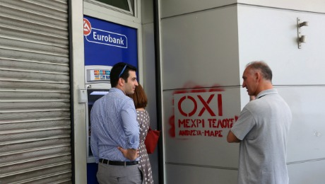 Daily Agenda: Greece Votes 'OXI!' (That Means 'No.')