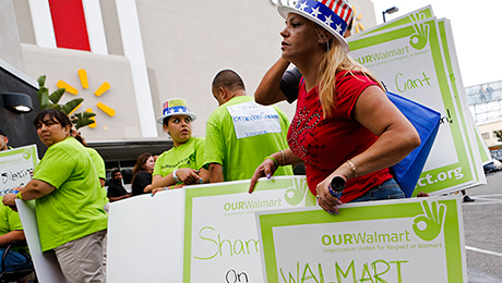 Wal-Mart Takes a Social Stand