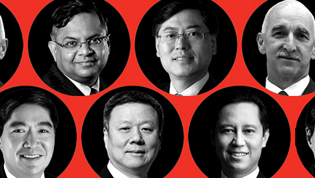 2015 All-Asia Executive Team Pays Tribute to Trailblazers
