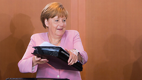 Daily Agenda: Merkel Faces Political Challenge over Bailout