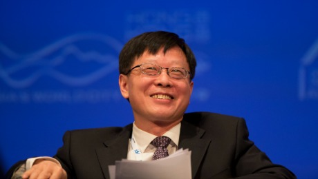 China Investment Corp. Boss Ding Has Friends in High Places
