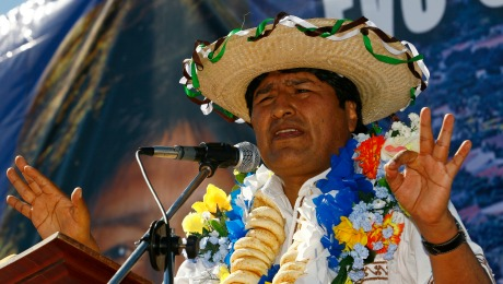 As Bolivia's Woes Mount, Morales Seeks a Fresh Lease on Power