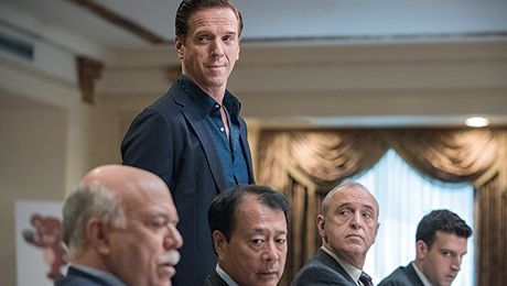 Damian Lewis Acts Like a Billionaire