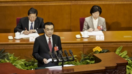 To Congress, China's Li Keqiang Emphasizes Need to Sustain Growth