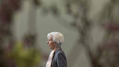IMF's Christine Lagarde Tells Europe Refugees Can Boost the Economy