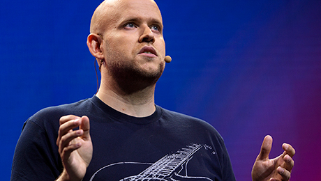 Spotify Boss Daniel Ek Faces Music from Apple, Google and Amazon