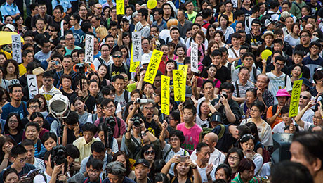 Widening Income Gap Encourages Hong Kong Independence Movement