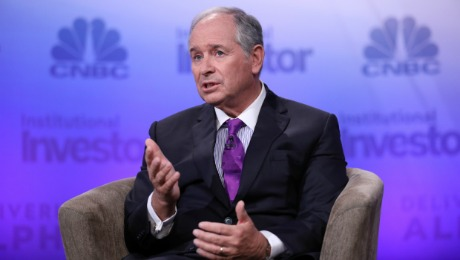 Schwarzman on Hedge Funds, Private Equity and Presidential Politics