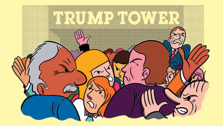 Trump Tower Gridlock's Latest Victims: Asset Managers