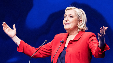 Mutual Funds Hedge Bets as Poll Shows Narrow French Election