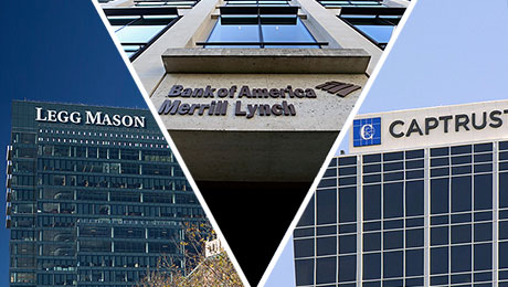 Merrill Lynch, Legg Mason, Captrust Top DC Providers Survey