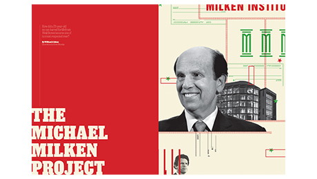 """Letters to The Editor: """"The Michael Milken Project"""""""