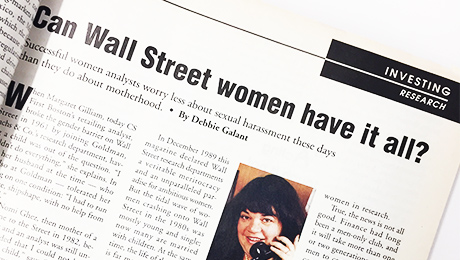 Wall Street in its Sixth Decade of Ogling, Groping Women