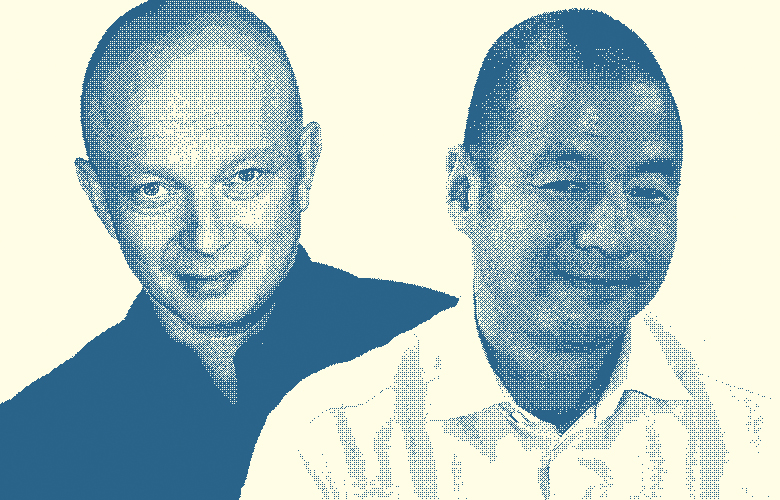 Igor Tulchinsky and Steve Lau