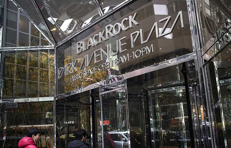 BlackRock Inc. headquarters in New York, U.S. (Photo credit: Victor J. Blue/Bloomberg)