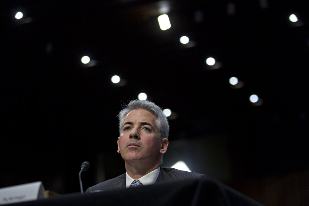 A Bet On Rising Rates Drives Ackman's First Quarter Gains
