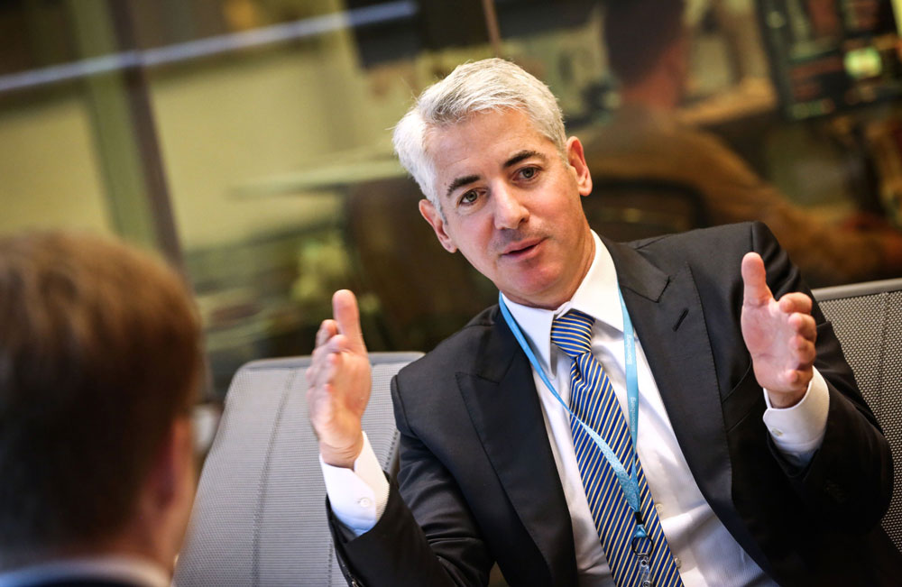 Ackman Scores Another Big Month