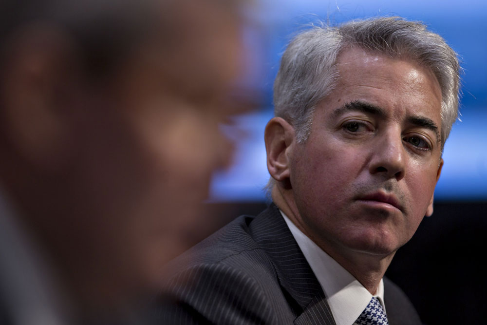 Ackman's Pershing Square Notches Gain in Volatile September