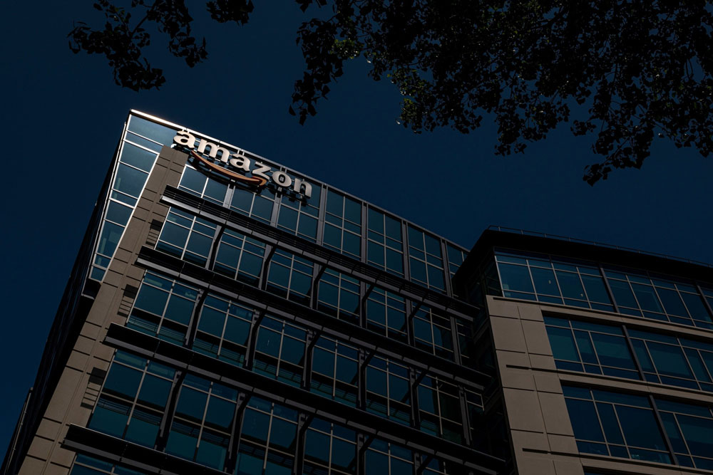 Amazon became Whale Rock's largest U.S. long in the first quarter. (David Paul Morris/Bloomberg)