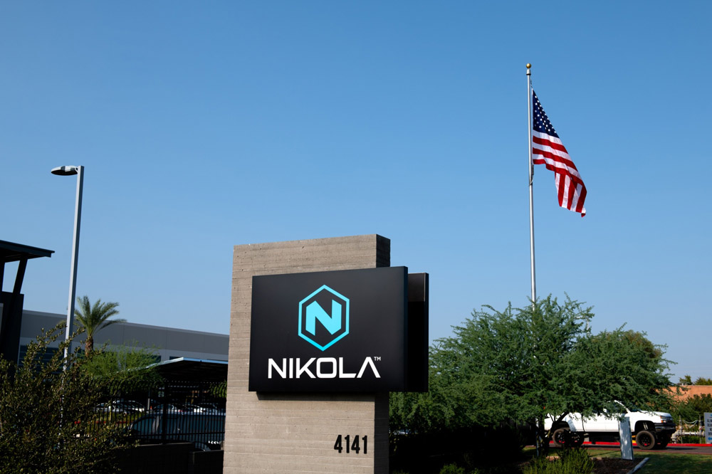 A short position in Nikola helped lead Aristides Capital to Q1 gains.(Ash Ponders/Bloomberg)