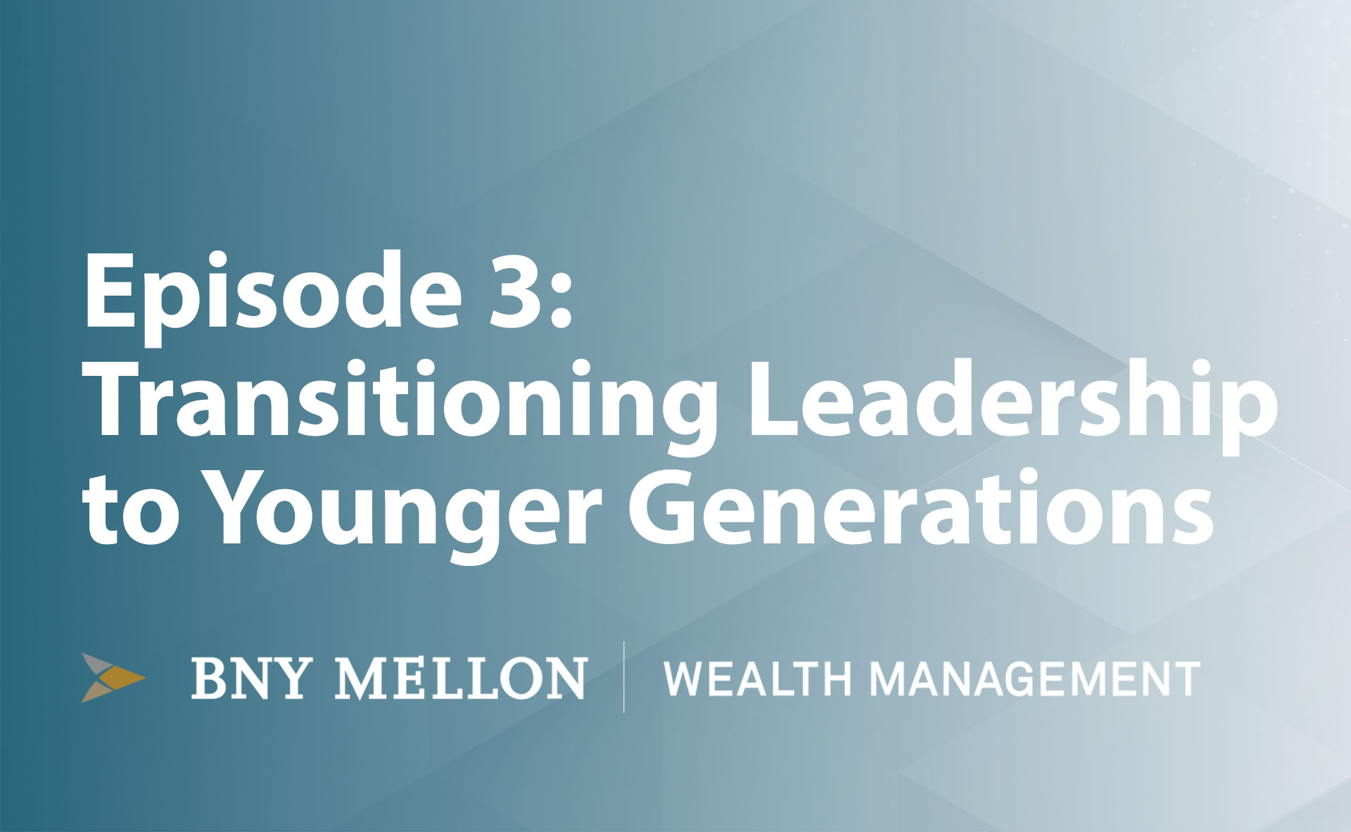 Video:Transitioning Leadership to Younger Generations