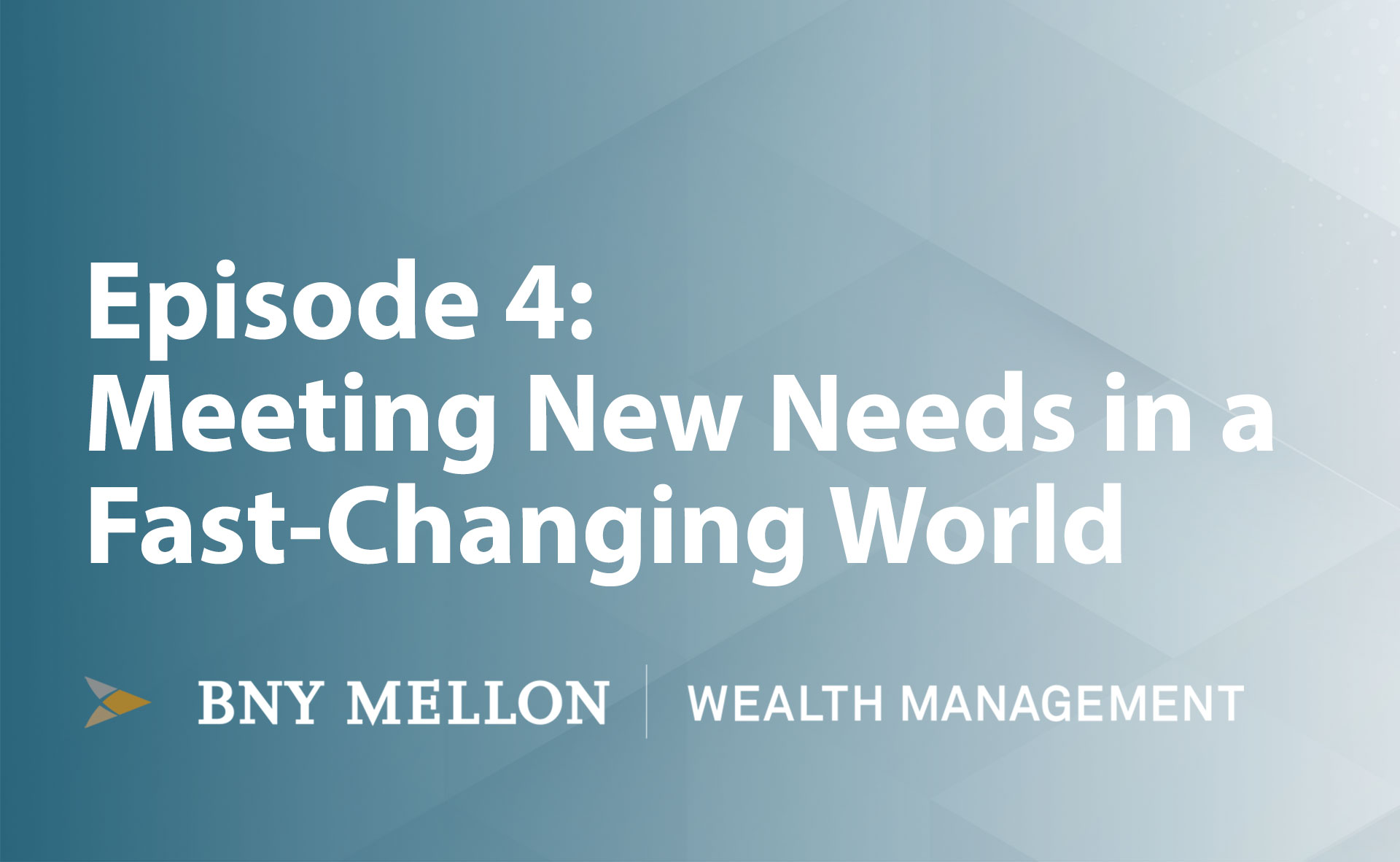 Video:Meeting New Needs in a Fast-Changing World
