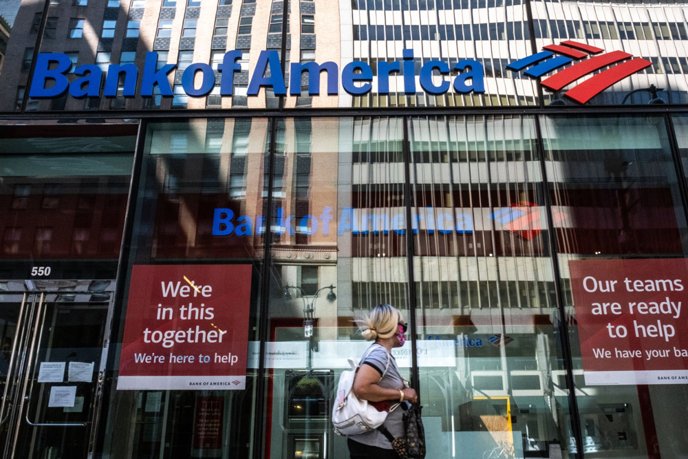 Bank of America Adopts AI, Finds 'More Significant Credit Stresses' From Covid-19