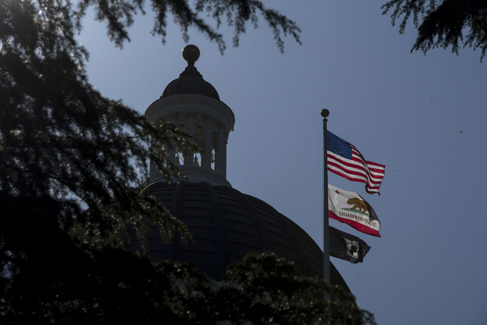 Sacramento, California. (David Paul Morris/Bloomberg)