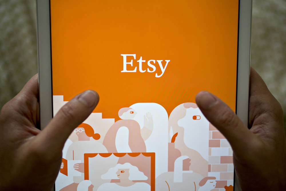 Etsy was one of Cadian's biggest winners in 2020. (Andrew Harrer/Bloomberg)