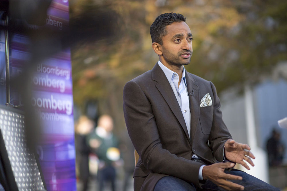 Hindenburg Research Goes After 'Wall Street Celebrity Promoter' Chamath Palihapitiya