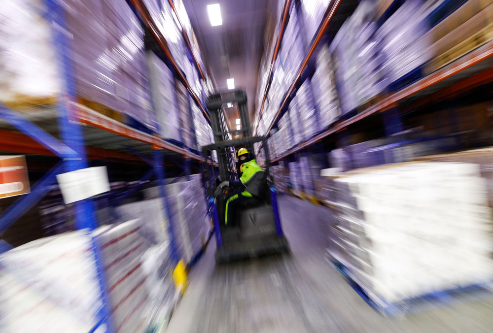 Lineage Logistics specializes in cold storage facilities around the world. (Darren Staples/Bloomberg)