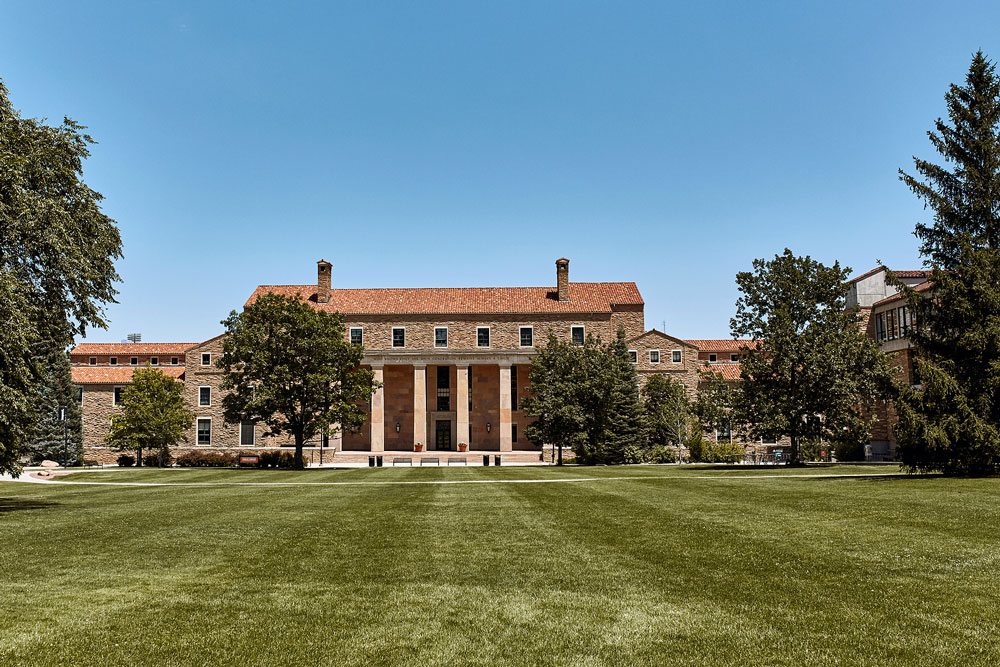 The University of Colorado Boulder campus (Bigstock photo)